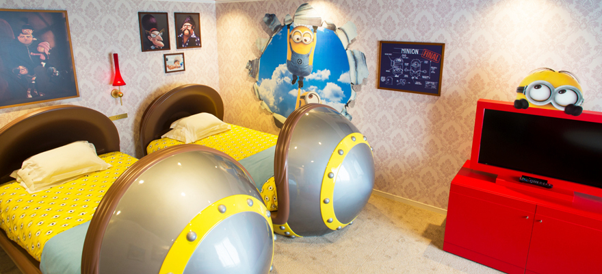 A Look Inside Japan's First Minions Room!