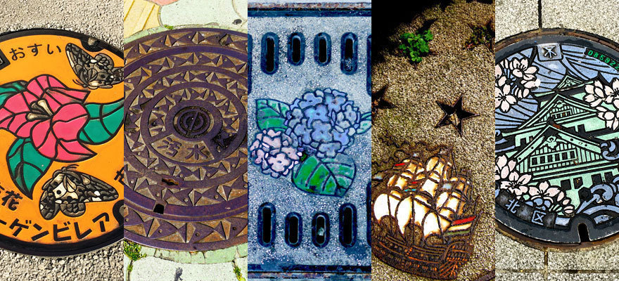 Art At Your Feet: Japan's Beautiful Manhole Covers