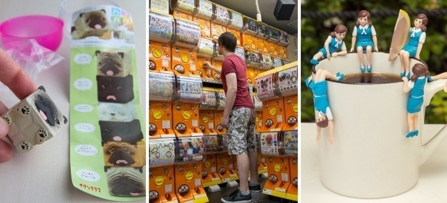 Japanese Capsule Toys : Fantastic gachapon and where to find them digjapan
