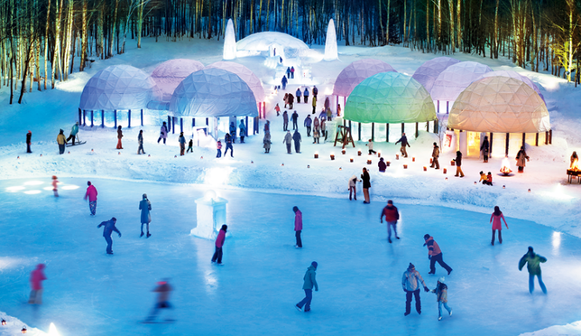 The Ice Village at Hoshino Resorts TOMAMU