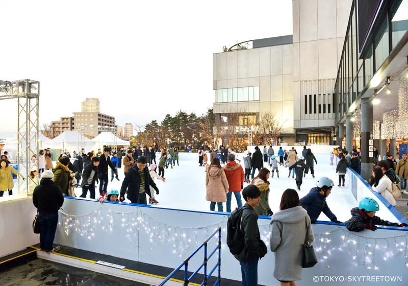 東京晴空塔滑冰場