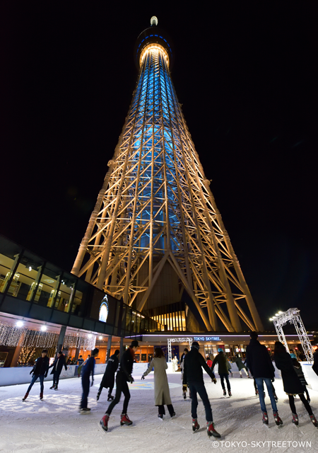 東京晴空塔滑冰場2