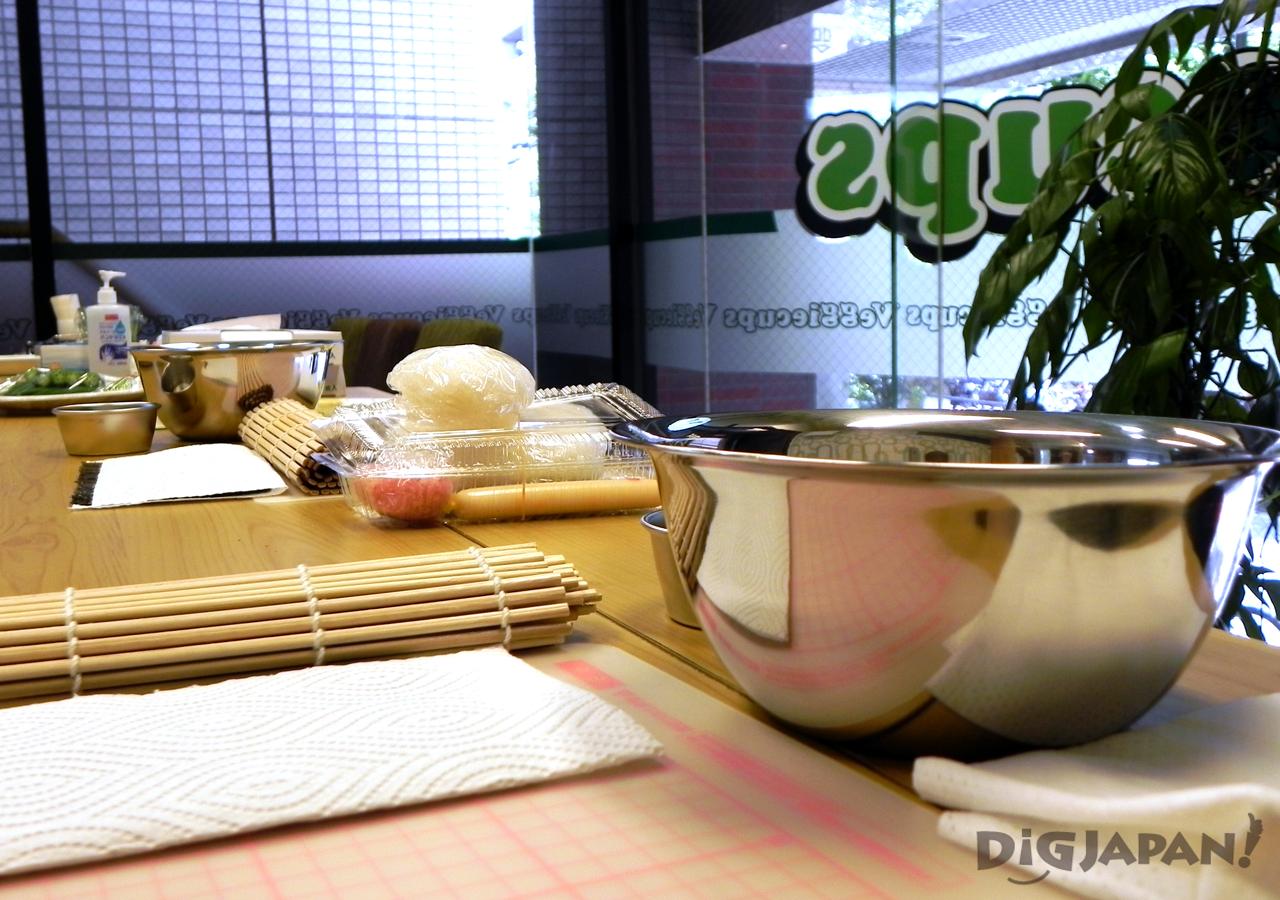 how to make sushi ingredients