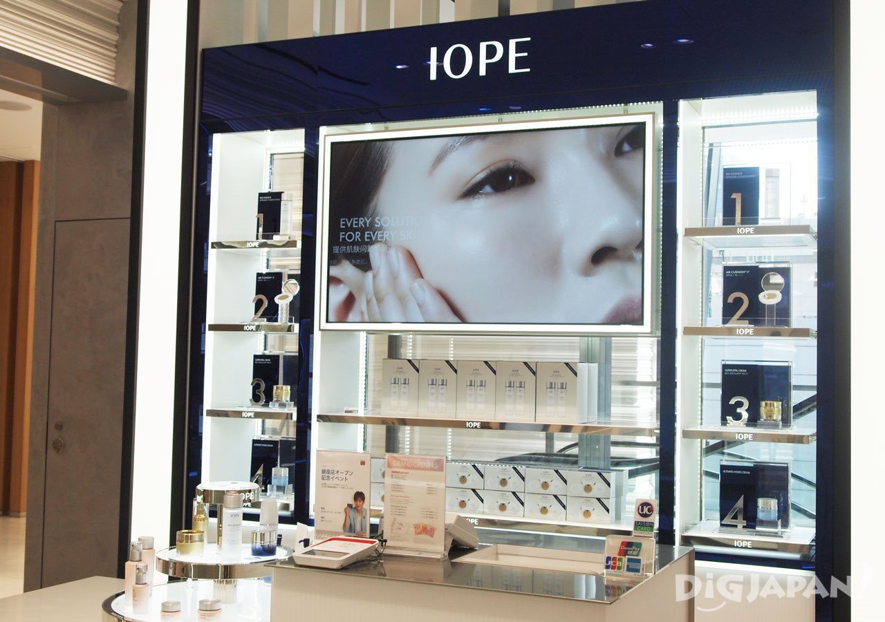 IOPE_店内