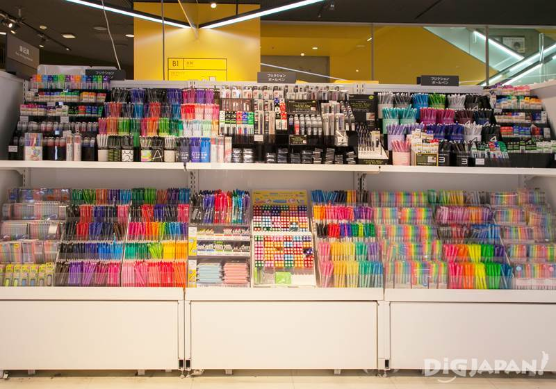 Pen selection at LOFT