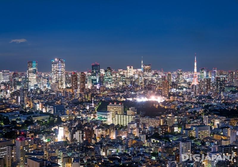 惠比壽花園廣場夜景