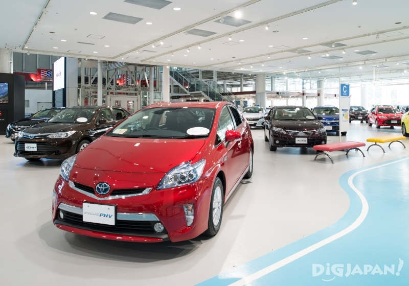 MEGA WEB的TOYOTA CITY SHOWCASE