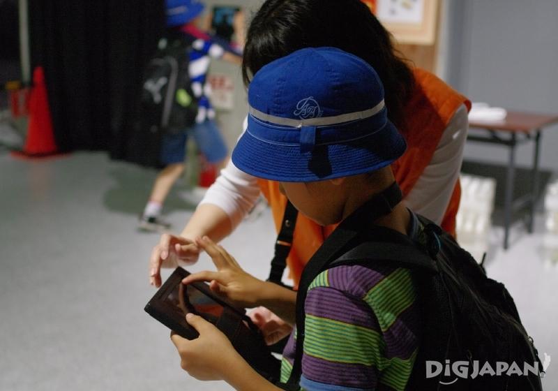 SONAAREA東京用平板電腦體驗