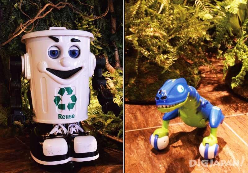 Henn-na Hotel舞濱東京灣移動垃圾桶和小恐龍