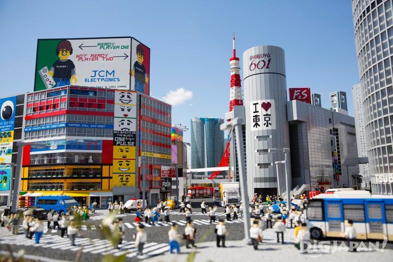 澀谷十字路口、東京鐵塔