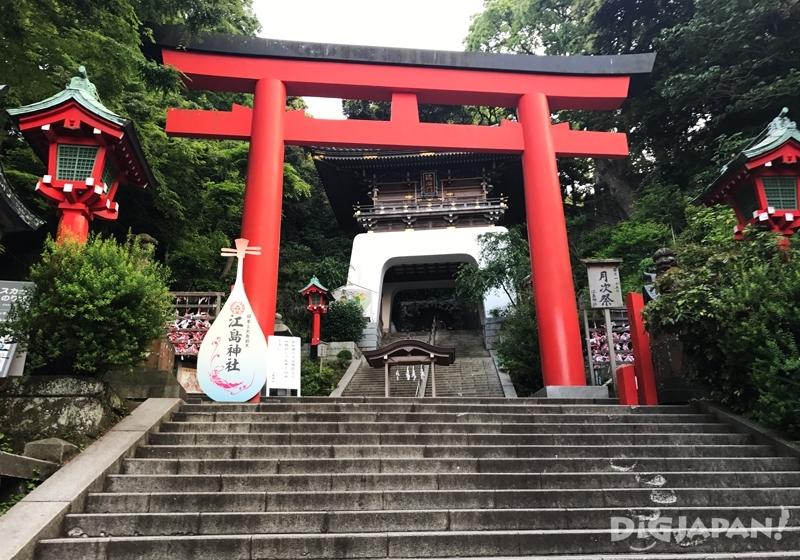 江島神社紅色鳥居