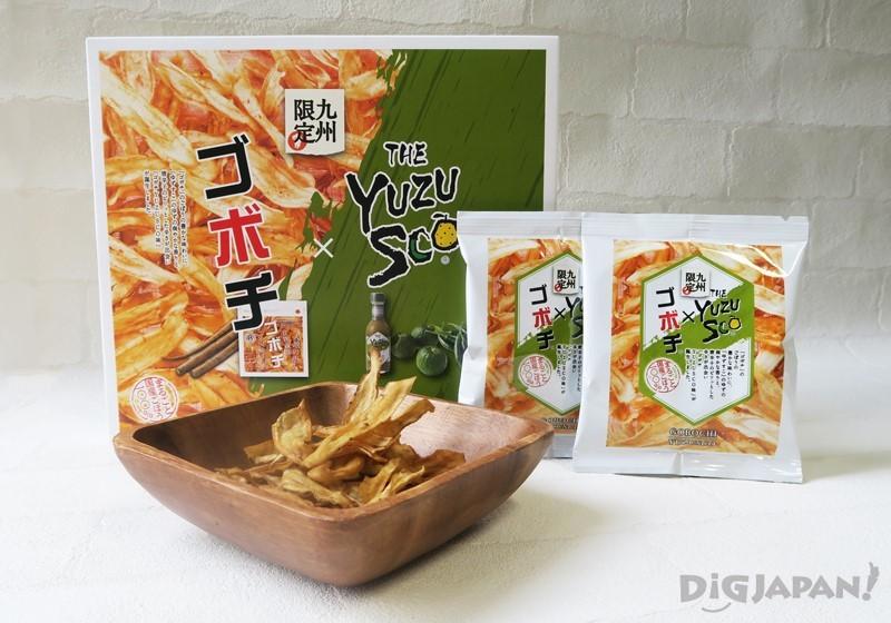 GOBOCHI柚子胡椒醋風味牛蒡片