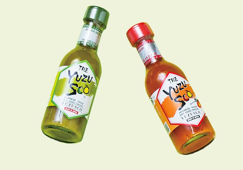 柚子胡椒調味醬汁