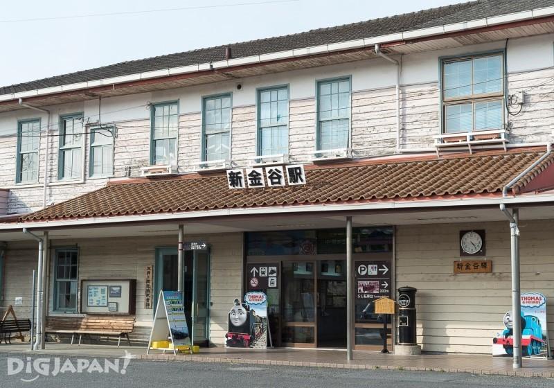 大井川線新金谷站
