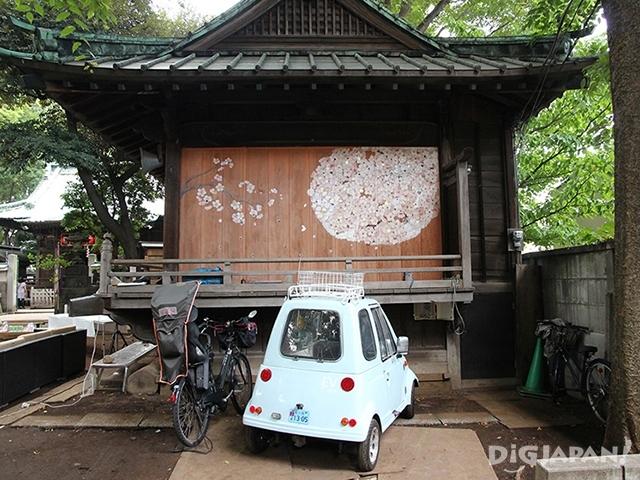 戶越八幡的神社