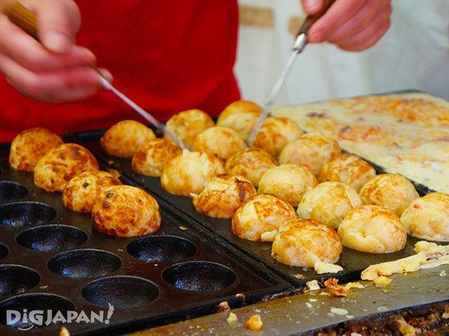 Minatoya的章魚燒