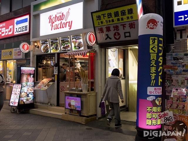 淺草日本最早的地下商店街