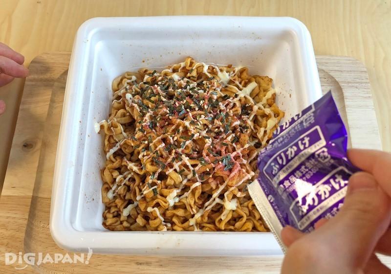 一平Chan炒烏龍麵 紀州酸梅 醬油湯頭口味內容物