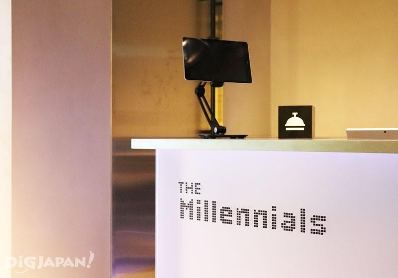 The Millennials Shibuya4F櫃台