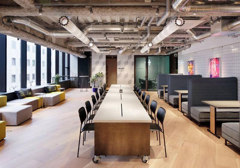 3樓是叫做「andwork」的共享辦公空間1