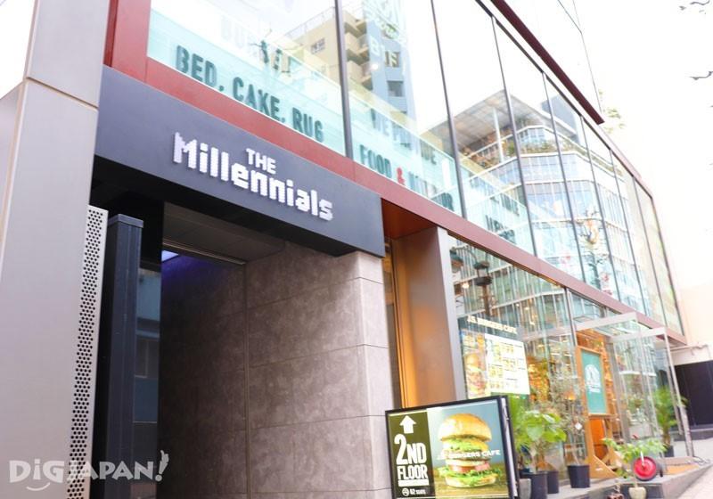 The Millennials Shibuya入口