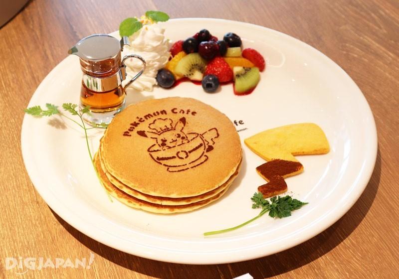 寶可夢咖啡廳水果鬆餅