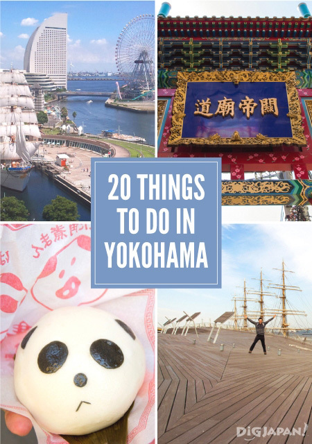 Yokohama First-Timer: 20 Things to Do in Tokyo's Port City Neighbor