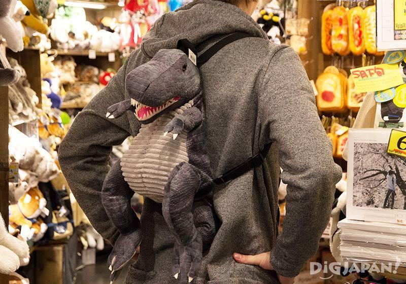 恐龍造型後背包