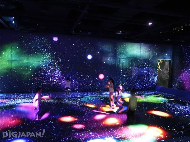 全新的創造式運動空間「teamLab運動森林」